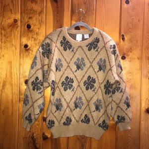 Vintage Chunky Together! Sweater